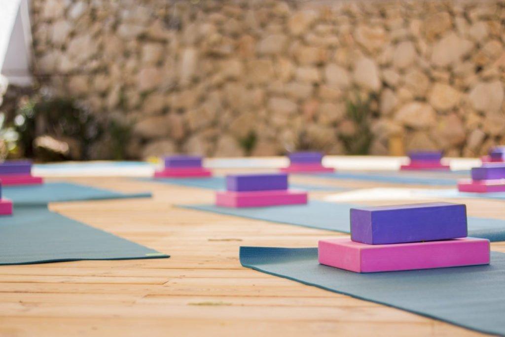 The inside yoga shala