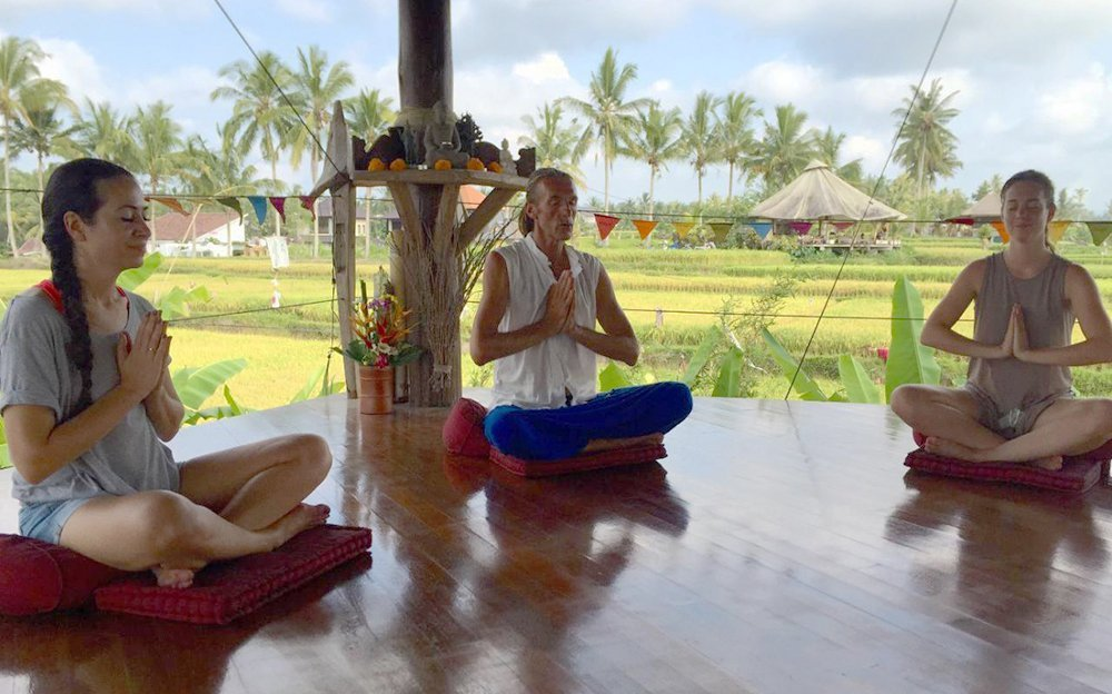 The Inner Beauty Retreat - meditating with Nick Good
