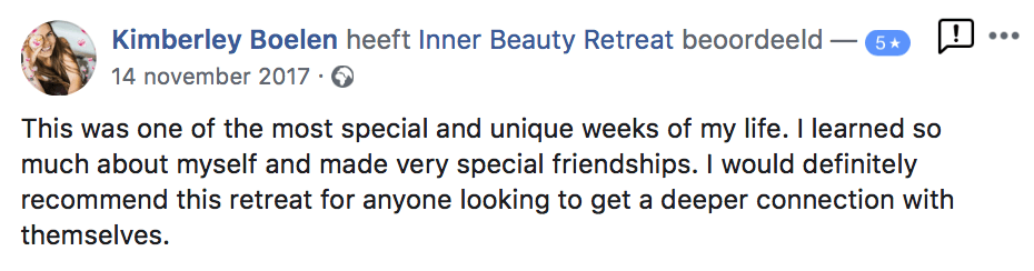 Inner beauty Retreat review